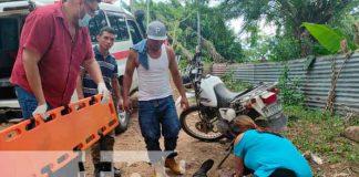 motocicleta, Nicaragua, Chontales, accidente,