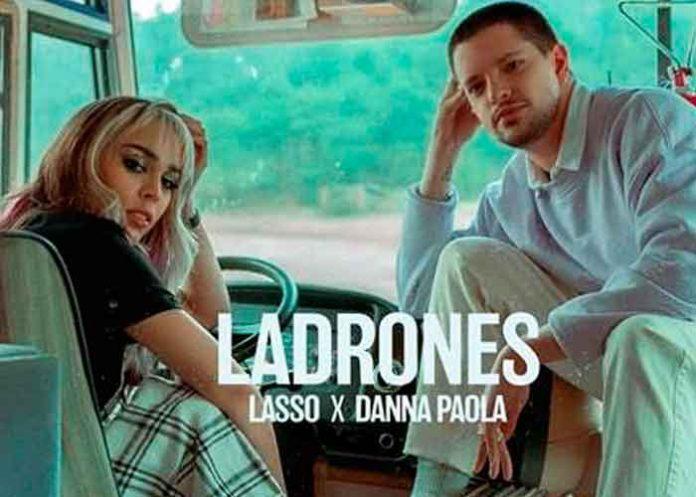 lasso, danna paola, ladrones, video, estreno, youtube, musica,