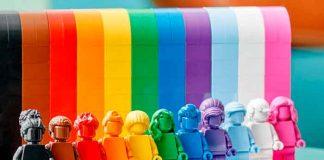 Fotos, juguetes lego, LGBTQIA+, set,