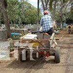nicaragua, limpieza, cementerio, san marcos, carazo,
