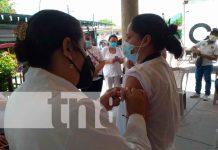 nicaragua, Madriz, jornada de vacunación , influenza,