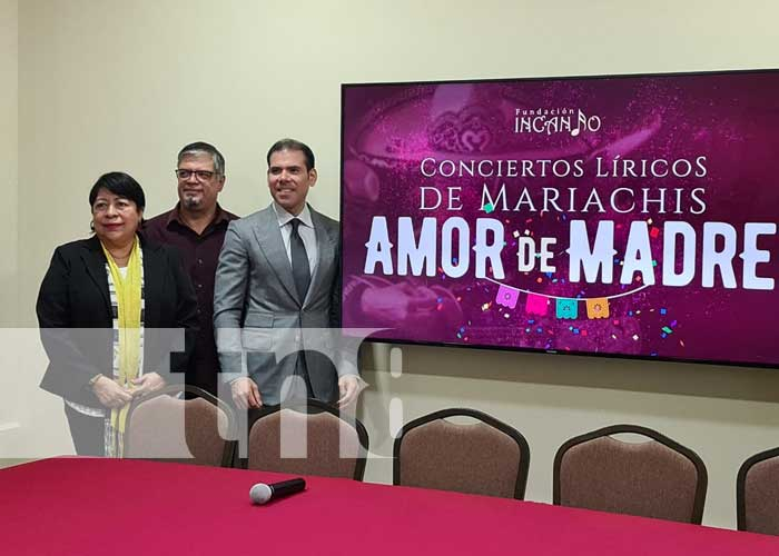 nicaragua, fundacion incanto, mariachi, madres, canto,