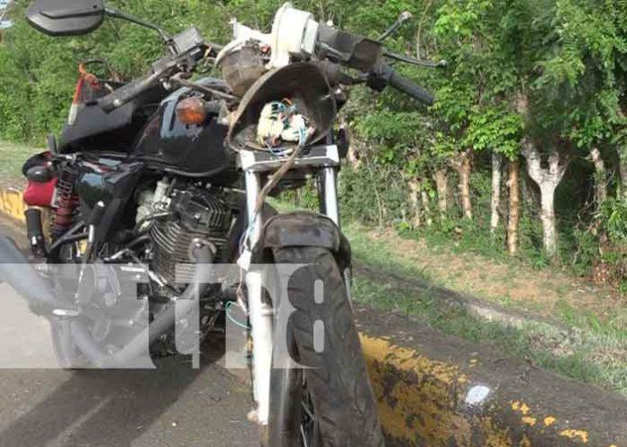Nicaragua, Masaya, accidente de tránsito, joven,