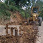 nicaragua, camino, reparacion, matiguas,