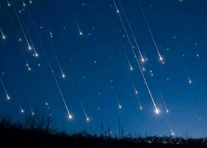 ciencia, astronomia, meteoros, lluvia de meteoritos,