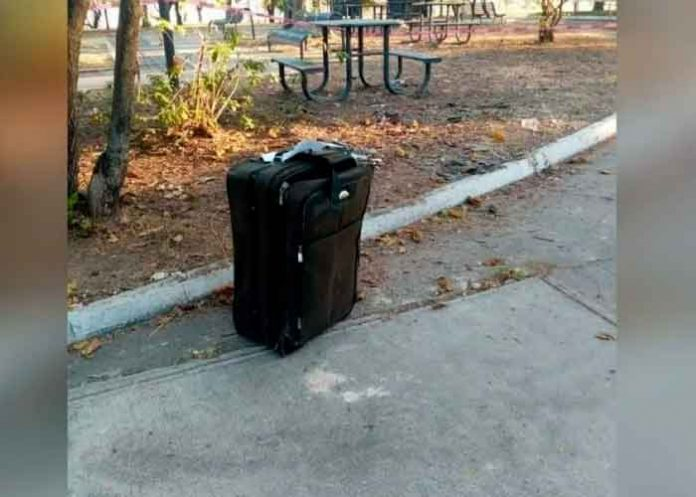 México, Guadalajara, maleta, cadáver de una mujer,