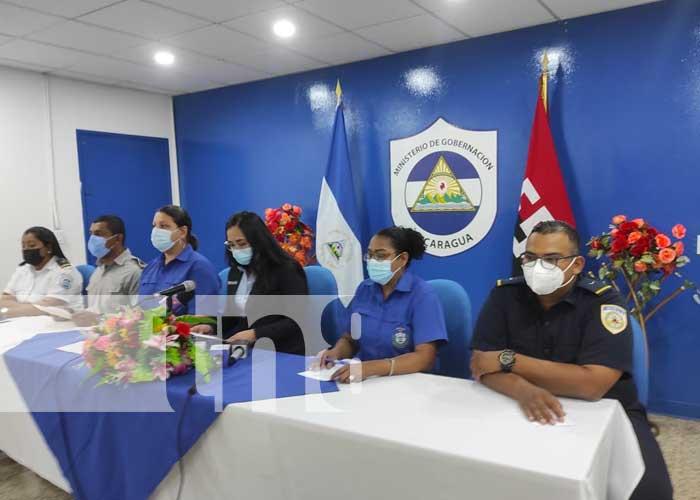 nicaragua, migob, servicios, bomberos, migracion,