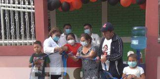 nicaragua, puesto de salud, mozonte, desarrollo, reparacion,