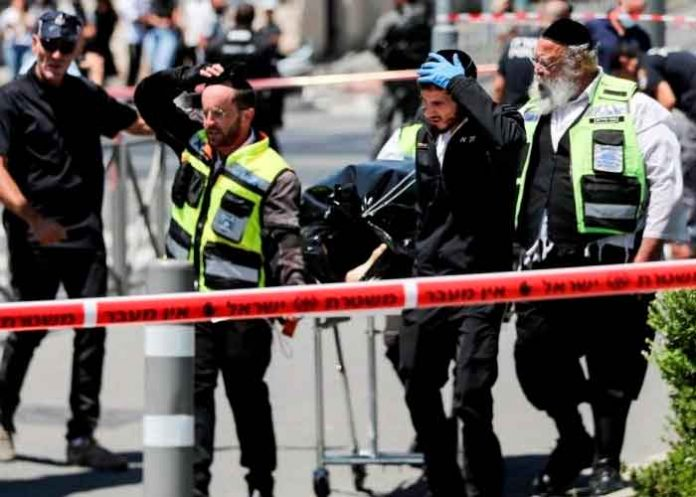 jerusalen, ataque, cuchillo, muertos, heridos, atacante,