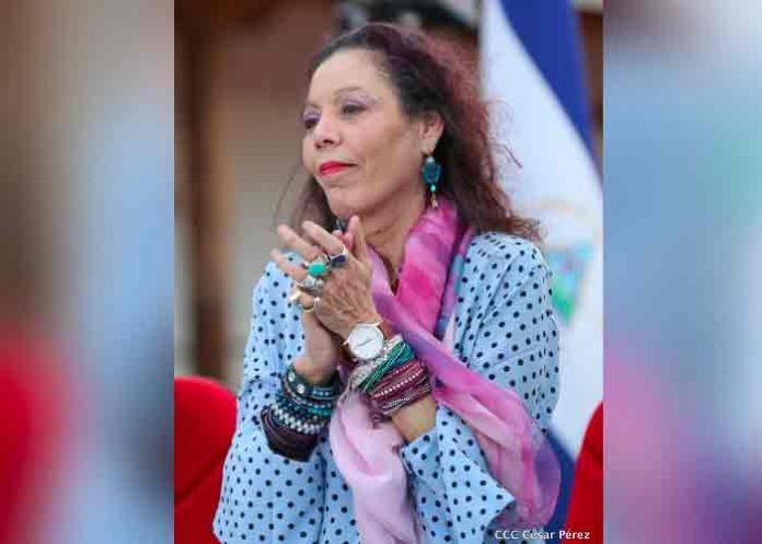 nicaragua, mensaje, vicepresidenta, rosario murillo,