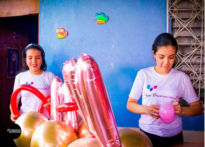 decoraciones, creatividad, Gisa, familiar, emprendimiento, Nicaragua Emprende,