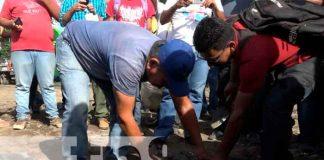 nicaragua, Ometepe, militancia sandinista, casa municipal,