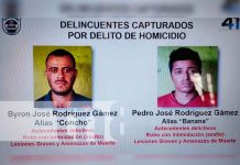 nicaragua, matagalpa, mulukuku, homicidio, capruta, policia nacional,