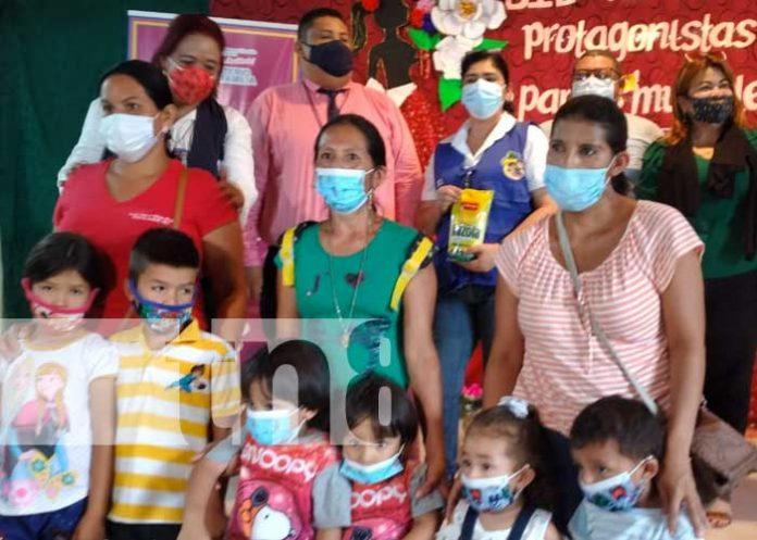 nicaragua, parto multiple, paquete, alimentos, madres, tipitapa,