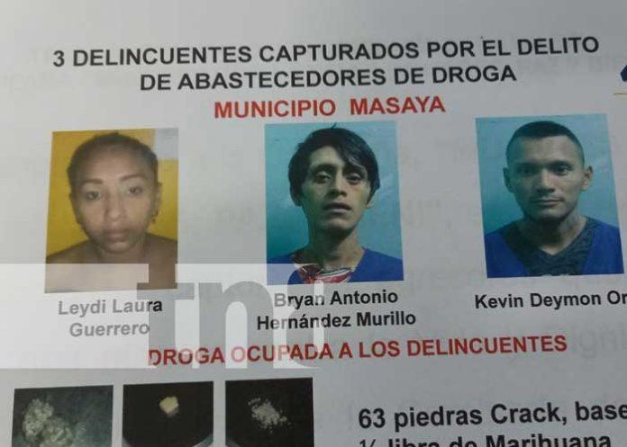 nicaragua, policia, masaya, delincuencia,