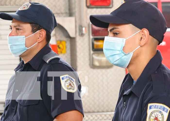 drogas, charlas, policia, bomberos, prevencion, nicaragua,
