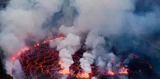 mundo, republica democratica del congo, volcan nyiragongo , goma, evacuacion,
