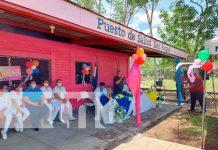 nicaragua, san francisco libre, puesto de salud, mejoras, infraestructura,