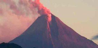 ecuador, volcan sangay, erupcion,