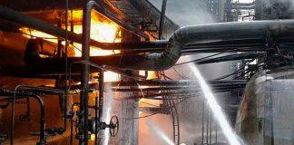 siria, incendio, refineria, estalla, medio oriente,.