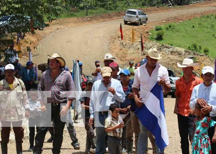 nicaragua, carretera, siuna, desarrollo, la toboba,
