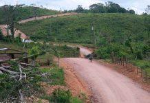 nicaragua, Siuna, Silvi Coperna, carreteras,