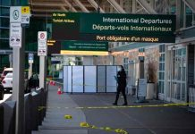 canada, tiroteo, aeropuerto de vancouver, policia,