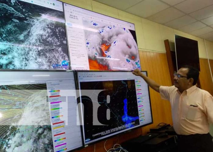 nicaragua, tormenta tropical, andres, clima, ineter,
