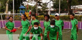 nicaragua, uniformes, liga comunitaria, equipamiento, gobierno,