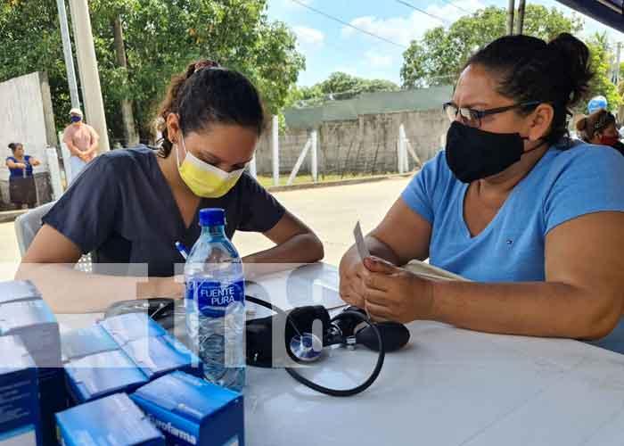 nicaragua, salud, clinica movil, barrio memorial sandino,
