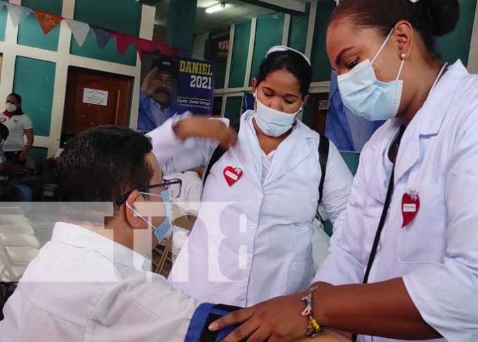 nicaragua, vacunacion, covid 19, triangulo minero, caribe,