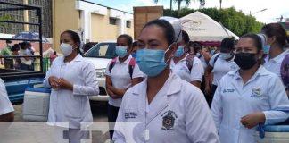 Vicepresidenta, Nicaragua, jornada de vacuna, COVID 19, influenza,