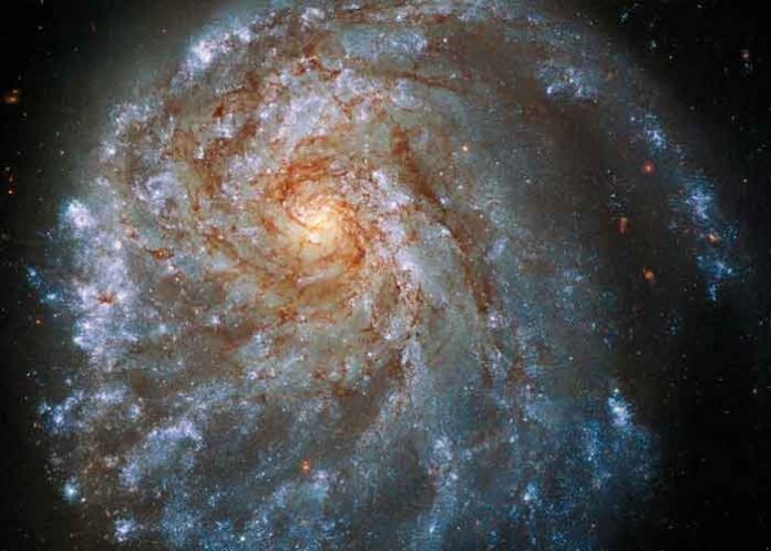 ciencia, telescopio hubble, imagen, galaxia, ngc 2276
