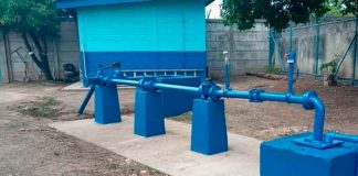 nicaragua, enacal, nuevo pozo, agua potable, inauguracion