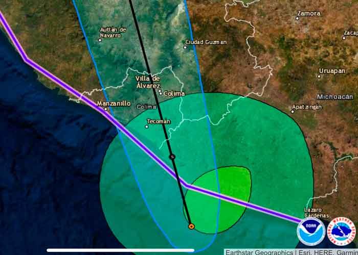 mexico, tormenta tropical dolores, vigilancia, lluvias, vientos