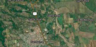 nicaragua, nandaime, accidente de transito, fallecido, policia nacional