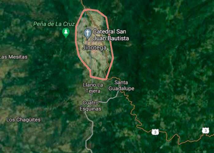 nicaragua, jinotega, muerte homicida, delincuente, captura