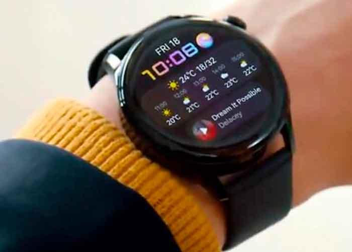 tecnologia, huaewi, reloj inteligente, sistema operativo, huawei watch 3