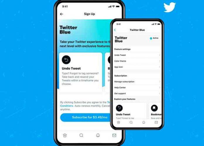 tecnologia, twitter blue, usuarios, servicio de pago, lanzamiento