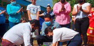 nicaragua, mined, siembra de arboles, mined, centros educativos