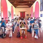 nicaragua, taller de dibujo, participantes, pintando el mombacho, objetivo