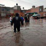 mexico, centra de abasto, productos, lluvias, inundaciones, corriente,