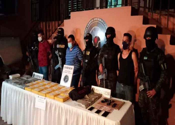 honduras, talanga, fnamp, detencion, droga, trasporte, autoridades, cocaina,