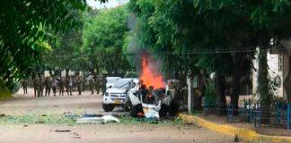 colombia, cucuta, explosion, coche bomba, ejercito, autoridades, heridos,