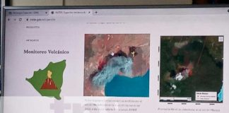 INETER, SINAPRED, sitio de riesgo geológico, Nicaragua,