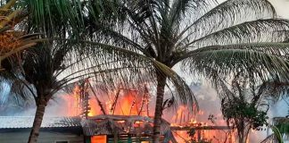 honduras, roatan, incendio, familias, afectacion, siniestro, bomberos,