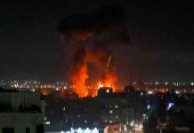 israel, ataque, gaza, lanzamiento, globos incendiarios, bombardeo,