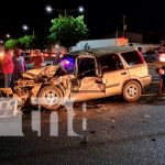 Nicaragua, managua, accidente de tránsito, daños materiales, persona lesionada,