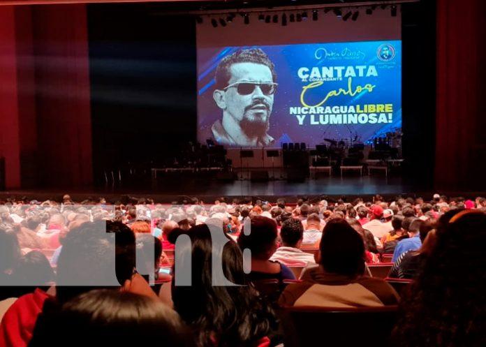 Nicaragua, managua, teatro nacional Rubén darío, natalicio de carlos fonseca,