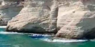 libano, beirut, accidente, lanzamiento, joven, acantilado, barco, golpe,